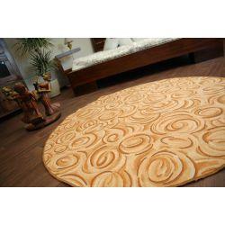 Carpet circle TOPOLINO gold