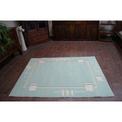 Teppich MODERN SONA aquamarine