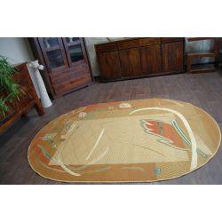 Teppich ovalen CLASSIC ZAWILEC Toffee