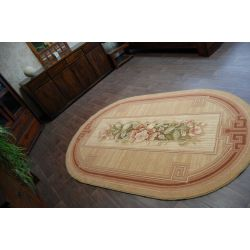 Carpet ASTRUM oval ARKADIA terracotta