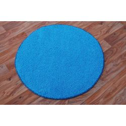 Carpet round SPHINX blue