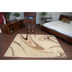 Teppich KARAMELL COFFEE cremig