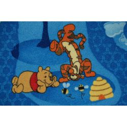 TAPPETO - MOQUETTE WINNIE THE POOH WOODLAND blu