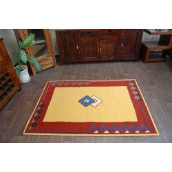 Carpet WEL-HIT KWADRACIKI gold