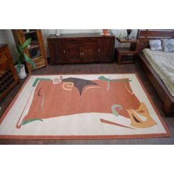 Carpet WEL-HIT KARAMBA terracotta