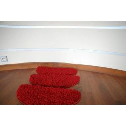 Stair overlay SHAGGY red