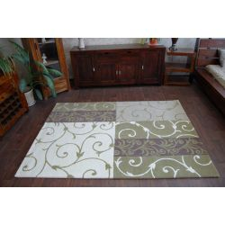 Carpet HAND TUFTED - SURAVI P06 green
