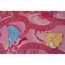 Tapis enfant DISNEY CELEBRATION rose