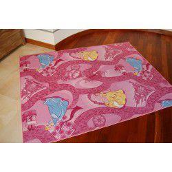 Passadeira carpete DISNEY CELEBRATION cor de rosa