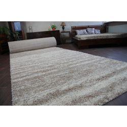 Shaggy szőnyegpadló LONG 5cm minta 3383 elefántcsont bézs