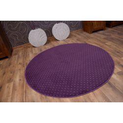 Koberec kruh prumer AKTUA 087 fialový