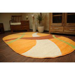 Teppich oval KASHMIR 062 orange
