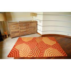 Tapete RUBIKON 8581 cor de laranja