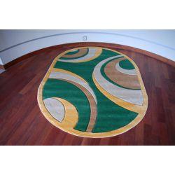 Tappeto ovale RUBIKON 8017 verde