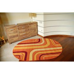 Rubikon szőnyeg ovális 8204 narancs
