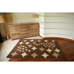 Carpet RUBIKON 8310 chocolate