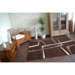 Carpet JAZZY METRIC dark brown