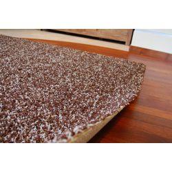 Килим SHAGGY 5 см MIX темно- коричневий