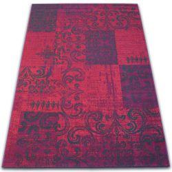 Tappeto Vintage 22215/082 fucsia patchwork