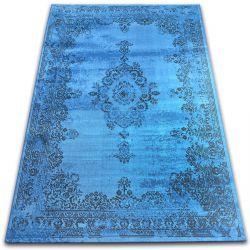 Koberec VINTAGE Růžice 22206/043 modrý