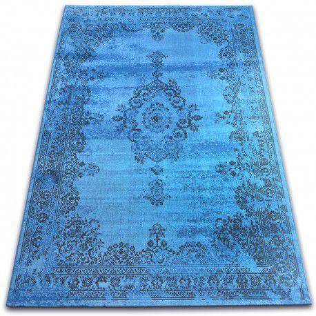 Tappeto Vintage Rosone 22206/043 blu