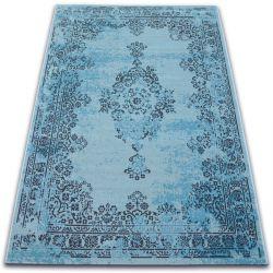 Teppich VINTAGE Rosette 22206/044 türkis
