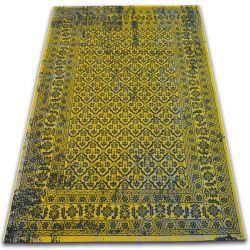Teppich VINTAGE Blumen 22209/025 gelb