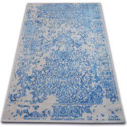 Dywan Vintage 22208/053 niebieski / szary