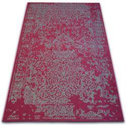 Teppich VINTAGE 22208/082 rotwein / grau