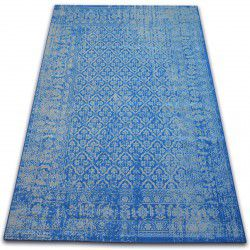 Carpet VINTAGE Flowers 22209/543 blue