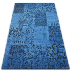 Carpet VINTAGE 22215/073 blue / grey