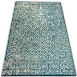 Dywan Vintage 22209/644 turkus / krem