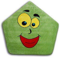 Килим PAINT п'ятикутник - 1553 зелений