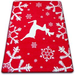 Carpet XMAS - F794 red/cream