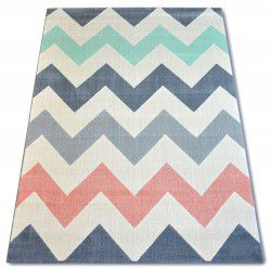 Carpet SCANDI 18248/073 - zigzag
