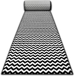 Runner SKETCH F561 black/cream - Zigzag