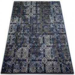 Килим DROP JASMINE 453 D.синій