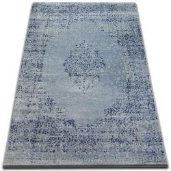 Koberec DROP JASMINE 455 Jasně modrá