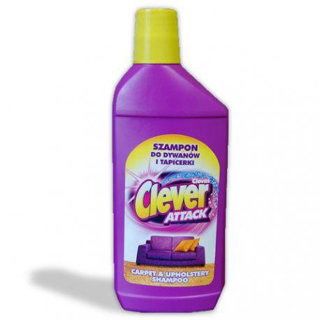 Sampon pro koberců a čalounění CLEVER 500ml