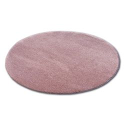 Tappeto cerchio SHAGGY MICRO rosa