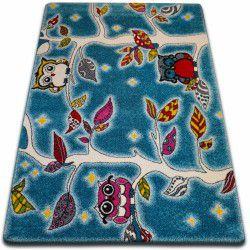 Tappeto KIDS Bosco blu C427