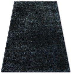 Shaggy narin szőnyeg P901 fekete melon