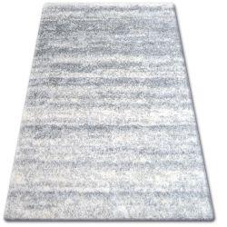 Килим SHAGGY ZENA 3383 сірий / білий