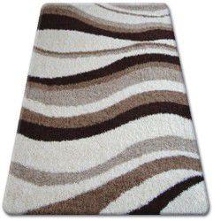 Carpet SHAGGY ZENA 2490 ivory / light beige