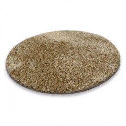 Carpet circle SHAGGY NARIN P901 dark beige
