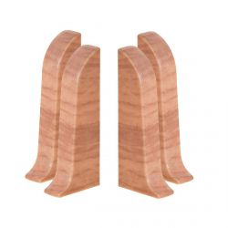 Baseboard End Caps PVC 2pcs. (L+R) SMART 544