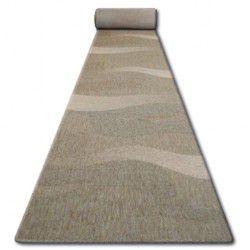 Sizal futó szőnyeg FLOORLUX minta 20212 coffe / mais