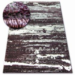 Kulatý koberec SHADOW 9368 šeřík / šeřík