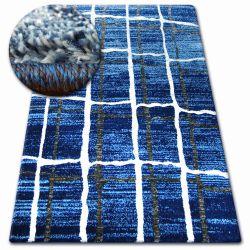 Килим SHADOW 9359 синій /білий