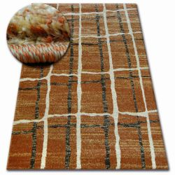 Carpet SHADOW 9359 rust / cream